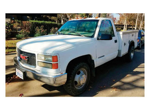 1999 GMC DUALLY - Auto V8 Good work truck locking boxes under 146K original miles 3450 obo 805