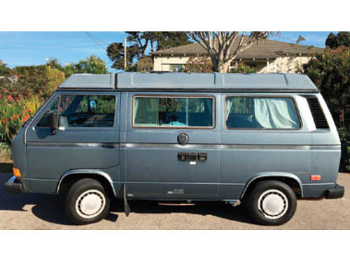 1987 VW WESTFALIA VANAGON GL 4 spd 2325K mi new engine124K trans144K New clutch valve cyl