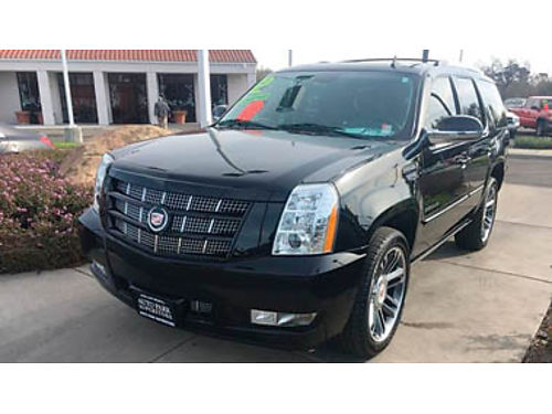 2012 CADILLAC ESCALADE fully loaded must see 29998 3337C245195 AUTO PARK USED CARS 1407 Au
