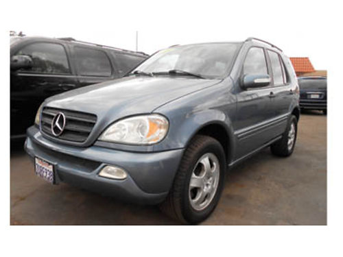 2004 MERCEDES ML350 V6 lthr mnrf 5995 491371 SBCARCO 1001 West Main St Santa Maria 805-61