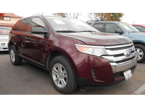 2011 FORD EDGE V6 mint condition 12995 B00531 SBCARCO 1001 West Main St Santa Maria 805-6
