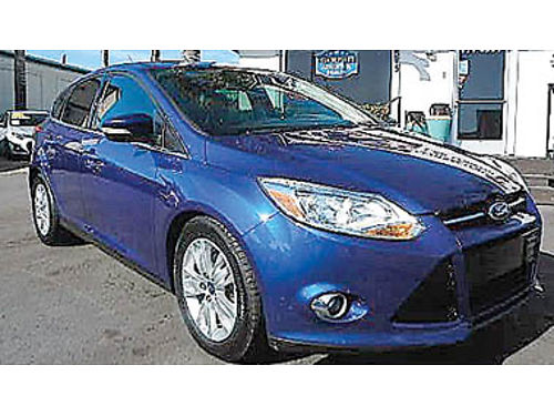 2012 FORD FOCUS SEL SYNC hatchback moonroof new tires 8495 8946365792 CENTRAL COAST CAR CO
