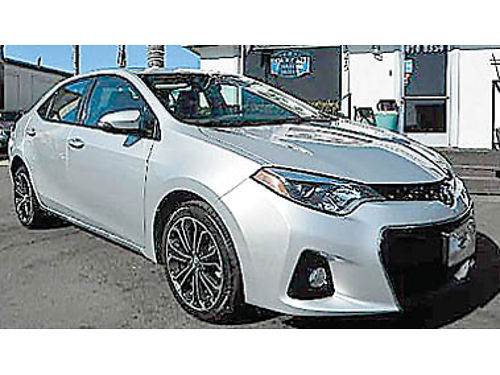 2016 TOYOTA COROLLA S PLUS Leather backup camera prem whls 12995 8945377589 CENTRAL COAST