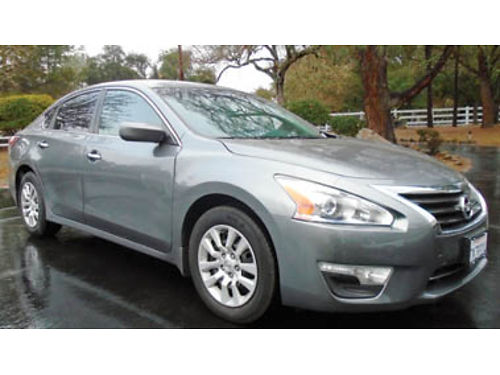 2015 NISSAN ALTIMA Only 12995 41K miles clean CarFax one owner lease Factory warranty Vin17