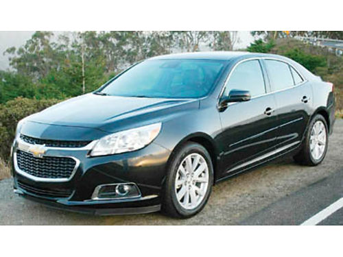 2013 CHEVY MALIBU LT Fully loaded sunroof heated leather seats frontback camera OnStar navigat