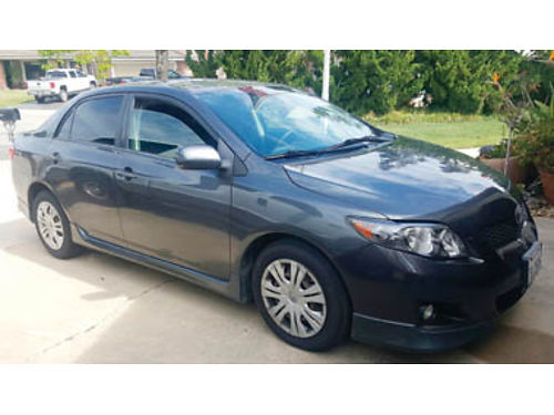 2009 TOYOTA COROLLA S 4 door at ac pw new tires 89K miles 7700 obo 805-345-7012
