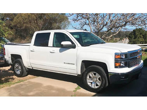 2015 CHEVY SILVERADO 1500 2WD Crew Cab LT 53L V8 1 owner xlnt cond all factory warrantys 1423