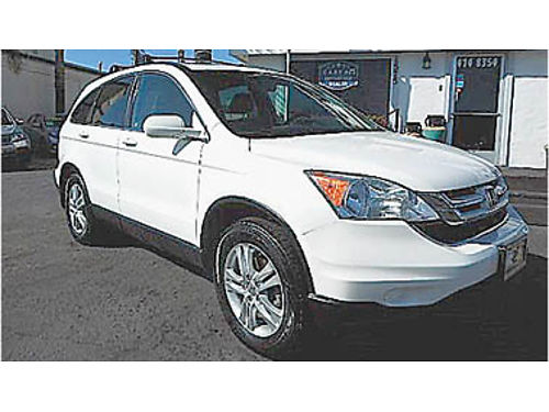 2010 HONDA CR-V EX-L Leather navigation 4x4 one owner 12695 8961002758 CENTRAL COAST CAR