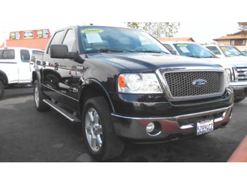 2008 FORD F150 LARIAT 4x4 fully loaded mint condition 15995 B71666 SBCARCO 1001 West Main