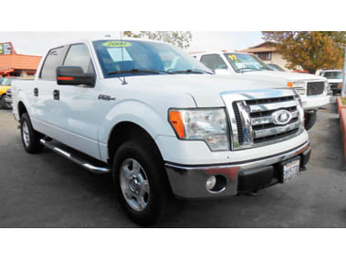 2009 FORD F150 XLT 4X4 one owner 12995 B73250 SBCARCO 1001 West Main St Santa Maria 805-6