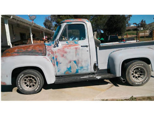 1954 FORD F-100 Newer 350 engine runs great needs little work 7400 obo 805-602-7772
