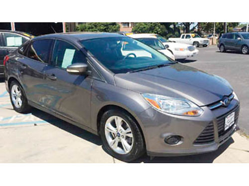 2013 FORD FOCUS SE 4cyl PZEV 20L AC CC SYNC alloys Traction control AdvanceTrac only 63K