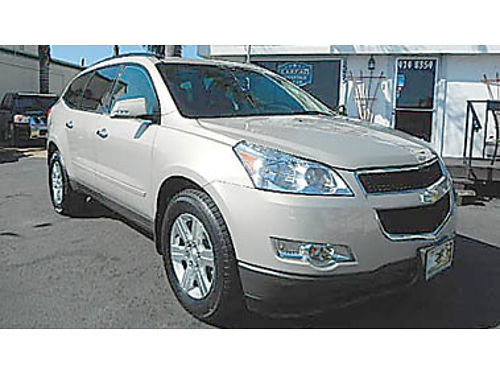 2012 CHEVY TRAVERSE 3rd row priced below KBB at 10750 8835136858 CENTRAL COAST CAR CO 1575