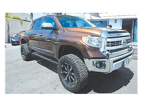 2014 TOYOTA TUNDRA CREW MAX 1794 Edition Fully loaded new lift  tires 32995 8969 CENTRAL C