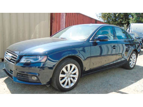 2010 AUDI A4 20 TURBO looks new runs strong 6spd Quattro all options 98K miles 9995  tax