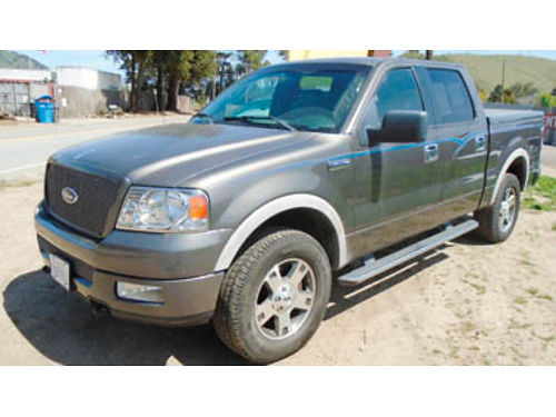 2005 FORD F150 FX4 Super Crew bucket seats tow htd seats 4x4 very clean 171K miles 7995  t