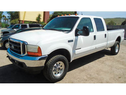 2001 FORD F350 4X4 DIESEL 73 XLT pkg very clean higher miles at 265K Low price of 11995  ta