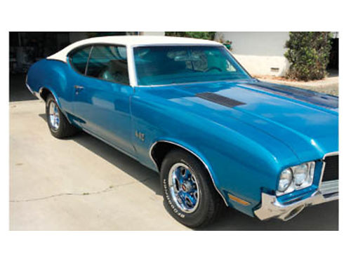 1971 OLDSMOBILE 442 - A Beauty All original s matching drive train BB 455 TH400 trans buckets