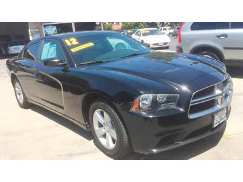 2012 DODGE CHARGER SE V6 36L AT AC CC Bluetooth UConnect alloy whls Wow Great Price 11