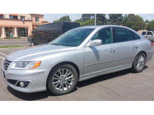 2010 HYUNDAI AZERA Limited 6 cyl Auto trans leather- loaded just under 69K records available tr