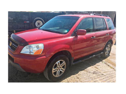 2003 HONDA PILOT Runs well 218000 miles automatic Third row option 2299 Purchase supports lo
