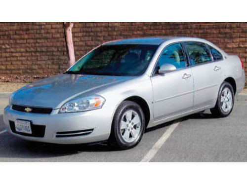 2007 CHEVY IMPALA V6 Automatic 1 owner accident free Well maintained always garaged all mainte
