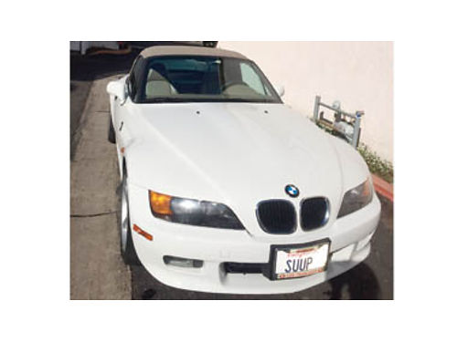 1997 BMW Z3 in perfect condition 2nd owner only 45K original miles garaged 1st year of 6 cyl A