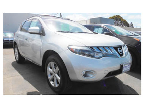 2009 NISSAN MURANO SL AWD leather navigation panoramic roof only 56K miles 14995 P2498114