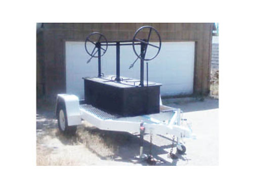 BBQ PIT ON TRAILER Moving- in great condition Great for catering weekend events fundraisers etc