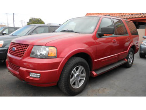 2004 FORD EXPEDITION Eddie Bauer V8 AT lthr 8 pass leather moonroof 4x4 7995 1483 SBCARC