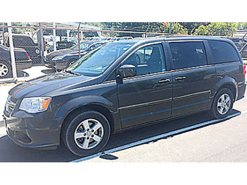 2012 DODGE GRAND CARAVAN SXT 36 V6 AT AC PW PDL CC TW amfmCD Pseat quad seating allo