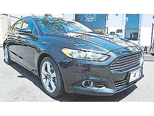 2013 FORD FUSION moonroof backup camera great price 9995 8977291727 CENTRAL COAST CAR CO