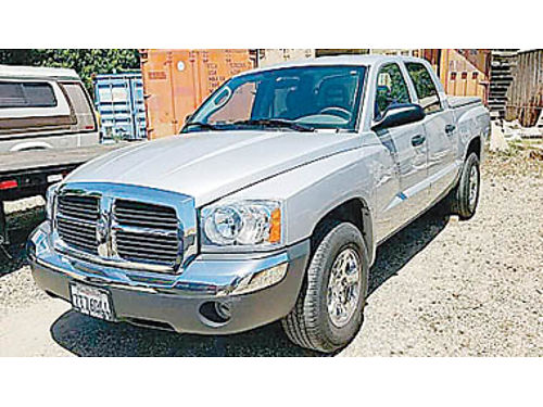 2005 DODGE DAKOTA QUAD CAB SLT - 47L at loaded hrd tonn liner tow 38K mi 218895 11905 G