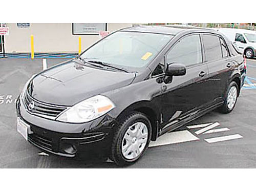 2010 NISSAN VERSA low miles Auto photo for illustration only 5995 P2545419897 Only at WINN
