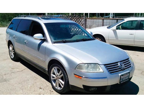 2005 VW PASSAT 5 speed auto trans cold ac looks and runs great excellent stereo passes smog te