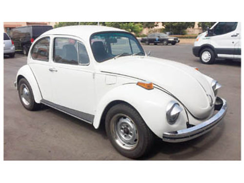 1971 VOLKSWAGEN BEETLE 95 restored new brakes- paint- tires- interior 5500