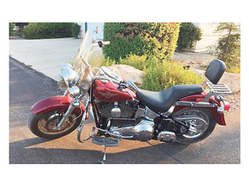 2000 HARLEY-DAVIDSON FATBOY Vance  Hines longshots low miles 5200 805-423-