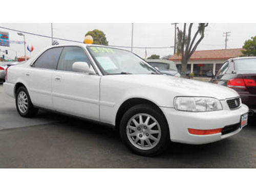 1998 ACURA 25 TL moonroof leather great car only 150K miles 3200 428973 CALIFORNIACAR SALE