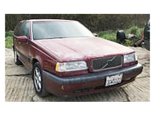 1994 VOLVO 850 TURBO 23L 5 cylinder engine automatic transmission ext paint is pretty worn but s