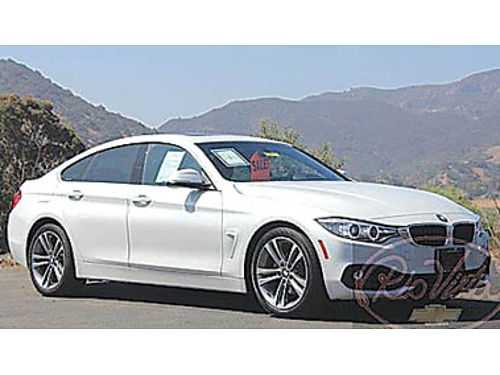 2016 BMW 428i Gran Coupe loaded low miles luxury 26900 5975T696409 RIO VISTA CHEVROLET 39
