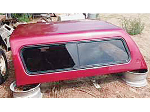LEER CAMPER SHELL fits 1999 - 2016 Ford Super Duty Short Box Asking 500 or best offer Text 805