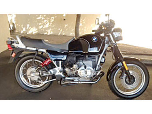 1992 BMW R100R Just serviced New battery stator regulator shocks oil- air filters plugs wir