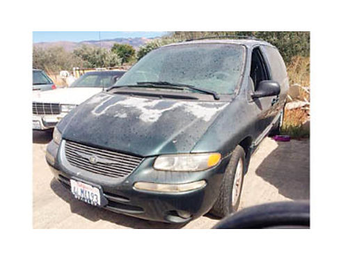 2000 CHRYSLER Town and Country V6 automatic trans 231000 miles 1500 Purchase supports local v