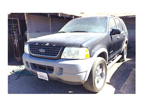 2002 FORD EXPLORER 40 V6 Auto Trans Custom Rims and Tires PW PS 1700 Purchase supports loca