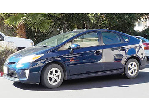 2012 TOYOTA PRIUS II navy blue 110K miles in good condition in  out tint n