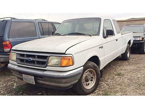 1998 FORD RANGER with 349000 Selling for only 500 Mechanics Special Purchase supports local ve
