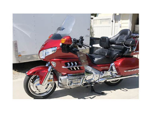2008 HONDA GOLDWING 39600 miles LED lights fog lights Turn Down pipes and more 12500 805-44