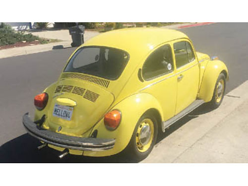 1974 VW Super Beetle 64K on updated engine all new tires  brakes No Smog Needed- Smog exempt 5