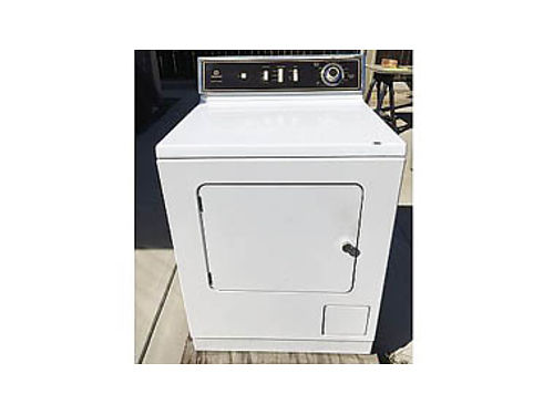 MAYTAG DRYER Full size mfg in the US Gas works good good clean cond stored  covered you pic