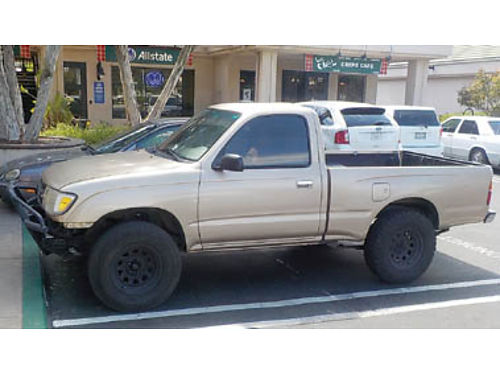 1998 TOYOTA TACOMA 4 Cyl Automatic 80 restored heavy duty tires interior like new under 160K m
